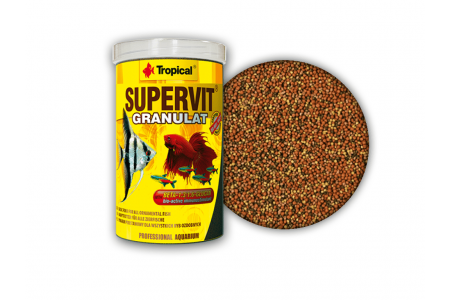 Гранулирана храна за всеядни риби Tropical Supervit Granulat