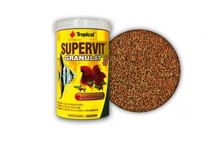 Hrana sub forma de granule pentru pestii omnivori Tropical Supervit Granulat