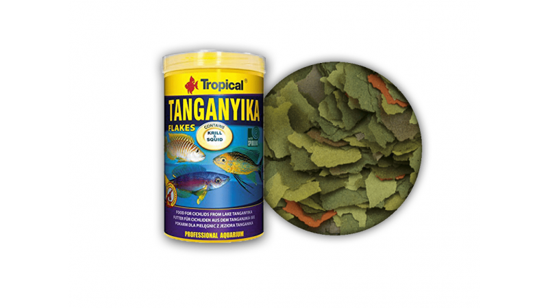 Храна на люспи за цихлиди Tropical Tanganyika Flakes