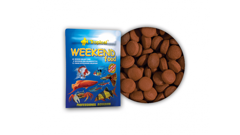 Tropical Weekend Food 20g approx 24 tablets