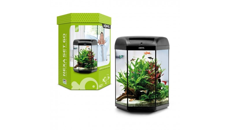 Aquarium AquaEL HEXA SET 60 LT