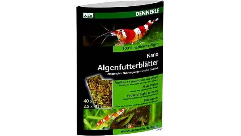 Храна за скариди Dennerle nano algae wafers