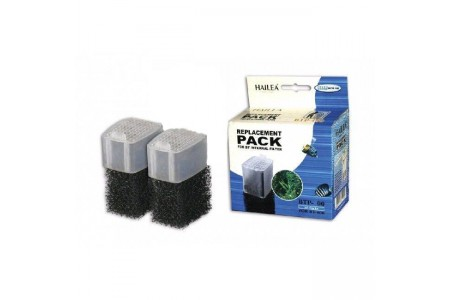 Repalcement pack for Internal filter Hailea BT-1000 (2 pcs)