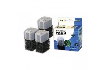 Repalcement pack for Internal filter Hailea BT-400 (3 pcs)