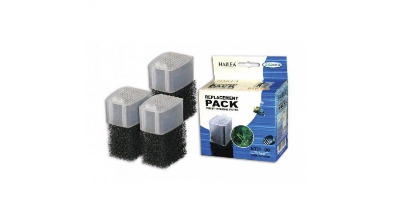 Repalcement pack for Internal filter Hailea BT-200 (3 pcs)